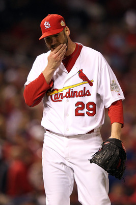 "The questions about Chris Carpenter are slowly shifting to ""if"" not ""when"" he will rejoin the Cardinal rotation."