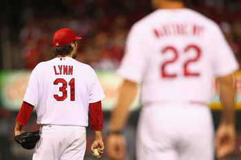 The uncertainty surrounding the Cardinals starting rotation puts even more pressure on Lance Lynn to maintain his hot start.