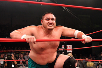 Samoa Joe (Photo courtesy of impactwrestling.com)