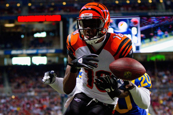 Ignore the loose ball. A.J. Green is incredible.
