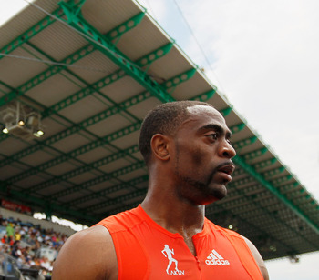 Tyson Gay has one last chance for an Olympic medal.