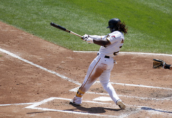 Andrew McCutchen is once again putting up All-Star numbers, but the rest of the offense of woefully inept.