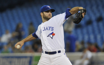 Brandon Morrow had a league-leading three shutouts before being shut down.