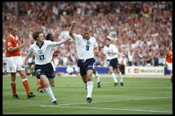 England Upset Holland at Euro 96