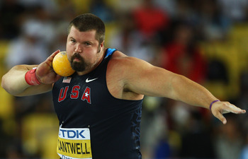 Christian Cantwell has one more shot at a gold medal.