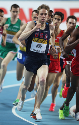 Galen Rupp is one of the favorites in the 5,000 meters.