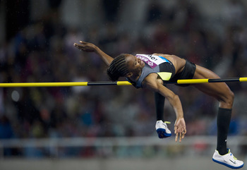 Chaunte Lowe has the stuff to win a London medal.