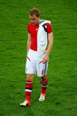 Christian Eriksen Leaves Euro 2012 Disappointed