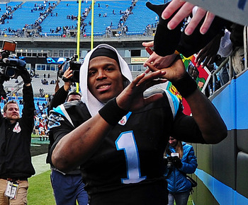 Cam Newton might soon add the MVP trophy next to his Heisman hardware.