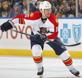 Sturm has dealt with lingering injuries for the past few seasons, but looks for a fresh start with a hungry Florida Panthers team.