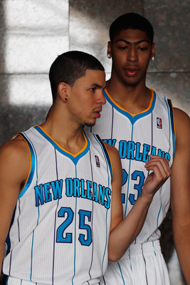Anthony Davis will pad his stat sheet having Austin Rivers' back on defense.