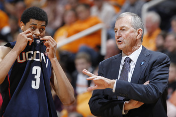 Even coach Calhoun can't fix Jeremy Lamb's poor shot-selection.