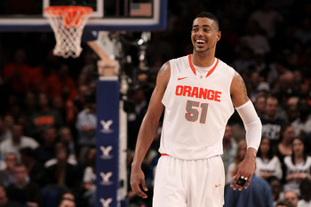 Fab Melo doesn't take basketball as seriously as he probably should.