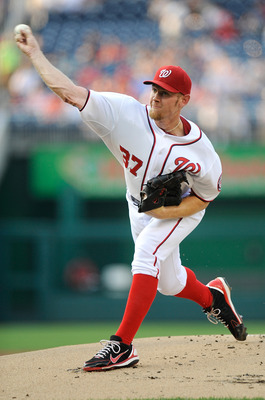 The Nationals may shut down Stephen Strasburg in September since he is in his first year back from Tommy John Surgery.