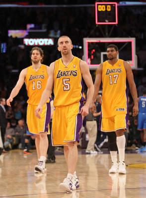Steve Blake is the guy who spreads the floor for Bynum and Gasol. Seriously.