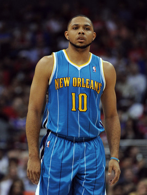 Could Eric Gordon cause Roy Hibbert to walk?
