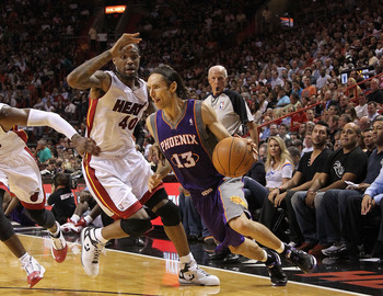 Nash's playmaking would stabilise the Heat's offense