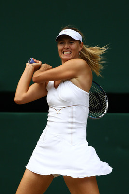 Seed No. 1 - Maria Sharapova (RUS)