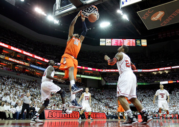 Syracuse's Fab Melo has some explainin' to do.
