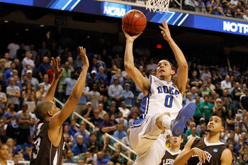 Duke's Austin Rivers picks up buzz as a rising stock.