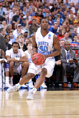 North Carolina's Harrison Barnes impressed in workouts this week.