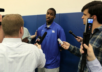 Kentucky's Michael Kidd-Gilchrist is another buzzing prospect in Thursday's Draft.