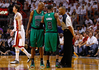 Rajon Rondo has had numerous run-ins with referees.