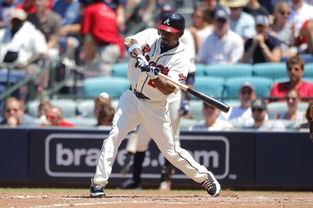 Will the Braves sign Bourn long-term? That's the biggest question concerning the offense right now.