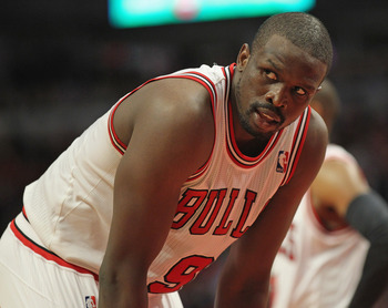 The Bulls have been shopping All-Star forward Luol Deng.