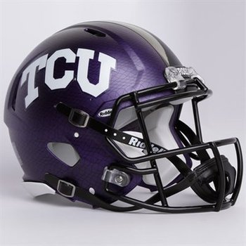 http://www.shopncaasports.com/NCAASports_TCU_Horned_Frogs/Riddell_Texas_Christian_Horned_Frogs_TCU_Purple_Revolution_Speed_Full-Size_Helmet