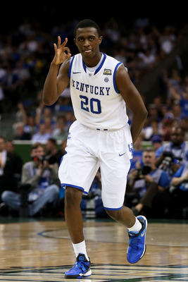 Doron Lamb is the top three-point shooting prospect in the draft.