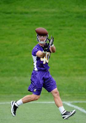 Vikings TE/FB Rhett Ellison