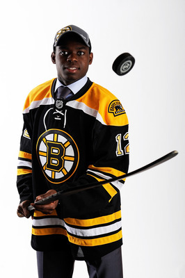 Subban's excellent glove hand make him a solid prospect.