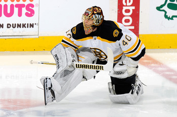 Tuukka Rask is slated to become the Bruins No. 1 goalie.