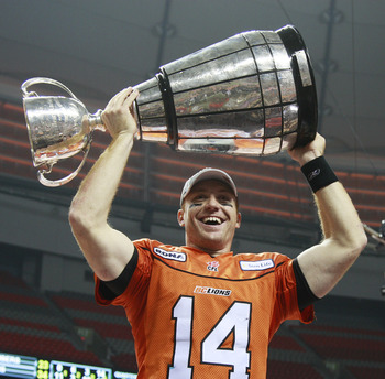 The Grey Cup was won for the 99th time in 2011.