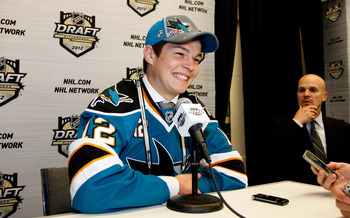 ...the No. 12 teal sweater CAN be worn by someone other than Patrick Marleau