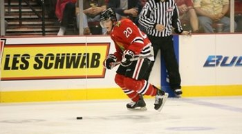 LW Taylor Leier--Image courtesy of winterhawks.com