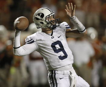 Now that Jake Heapas has transferred, the Cougars will no longer play a two quarterbacks.