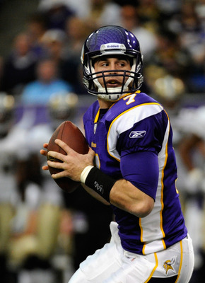 In his rookie campaign Christian Ponder completed 54.3 percent of his passes for 1,853 yards with 13 touchdowns and interceptions.