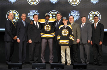 The Boston Bruins picked Malcolm Subban to help fill the hole left behind by Tim Thomas' absence