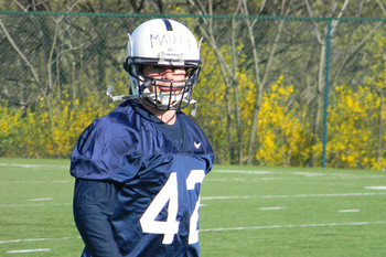 Penn State linebacker Michael Mauti. Photo: Kevin McGuire, No2MinuteWarning.com