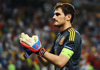 Iker Casillas has been unflappable for years.