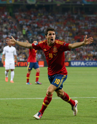 Spain's No. 10 has been exceptional during Euro 2012.