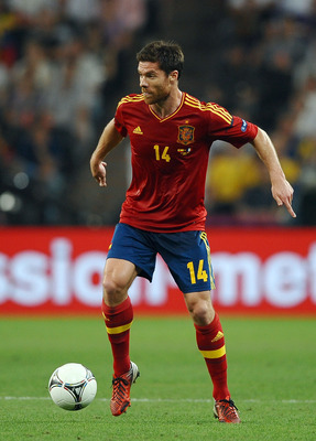 Xabi Alonso has been a rock for Spain in this tournament.