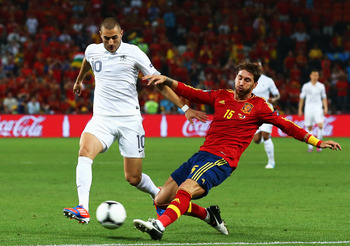Sergio Ramos has been by far Spain's most reliable defender.