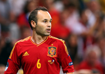 If Spain was a song, Iniesta would be the beat.