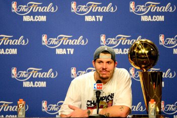 Mike Miller's three point barrage in Game 5 could be the last time he steps on an NBA court.