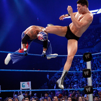 Cody Rhodes' Beautiful Disaster (Photo courtesy of WWE.com)