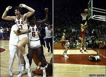 The 1972 gold-medal basketball game is still one of the most controversial moments in Olympic history. (Getty Images)