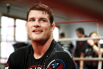 Michael Bisping - Esther Lin/AOL